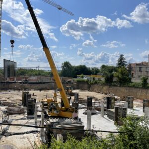 Будівництво підземного паркінгу
