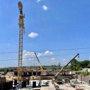 Капітальне будівництво зовнішніх стін 2-го фактичного поверху