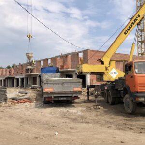 Капітальне будівництво зовнішніх стін 3-го фактичного поверху